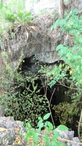 Die Höhle, leider kamen wir nicht rein!