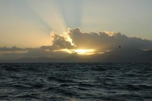 Die Küste von Trinidad